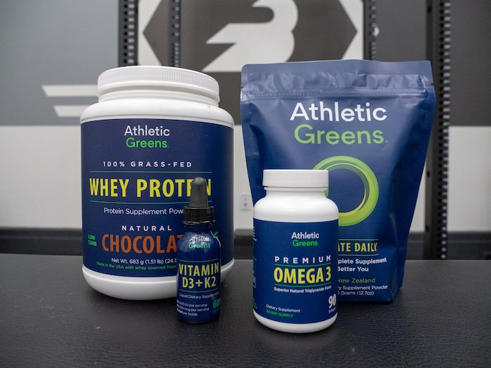Athletic Greens products