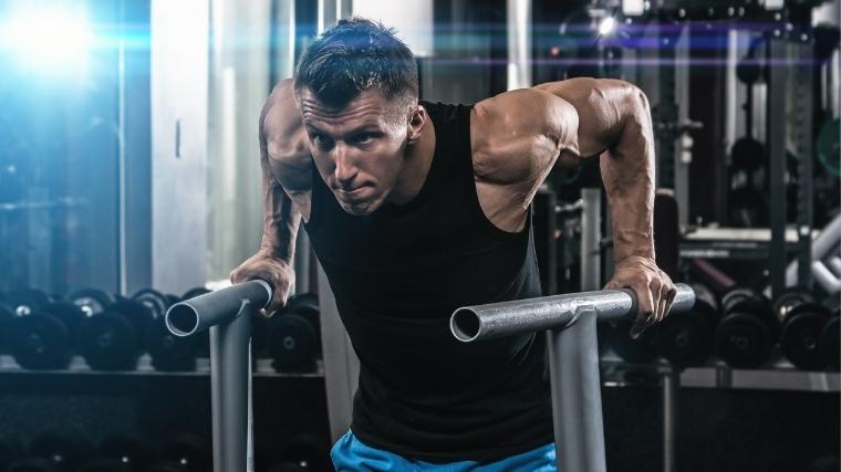 triceps parallel bar dip