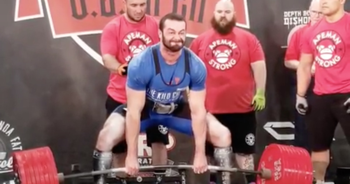 Powerlifter Cailer Woolam Deadlifts An Epic 431kg for All