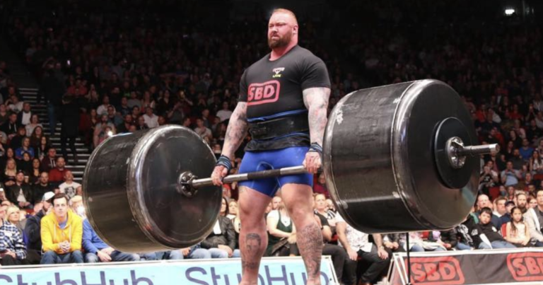 Hafthor Bjornsson Europe's Strongest Man
