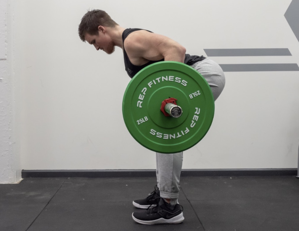 How to Barbell Row