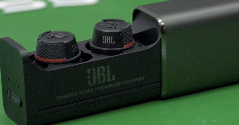 JBL Under Armour True Wireless Flash Headphones Review