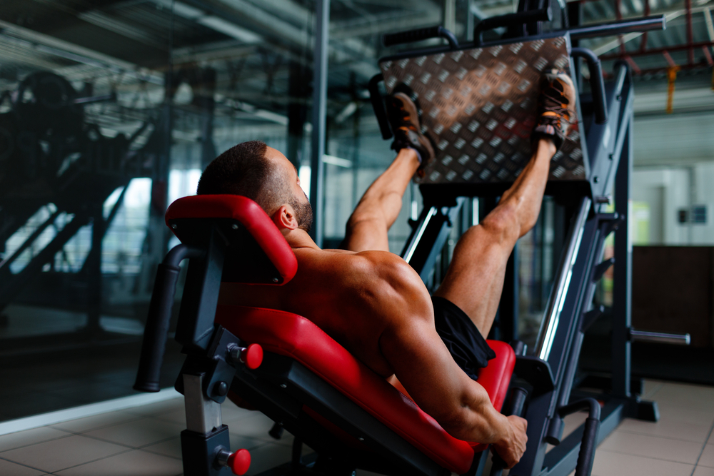 Leg Press Starting Position