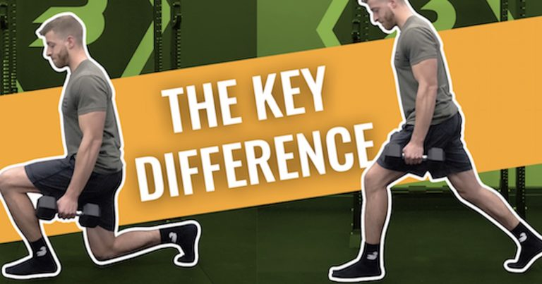 Lunge Vs. Split Squat — What's the Main Difference?