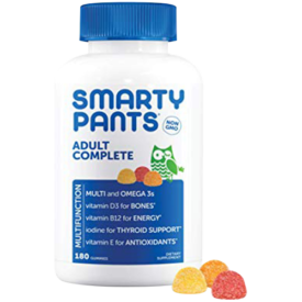 SmartyPants Adult Complete Daily Gummy Vitamins