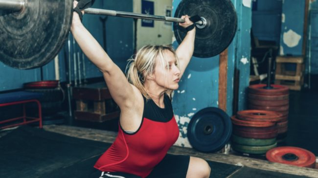 Weightlifters and Muscle Fiber Study