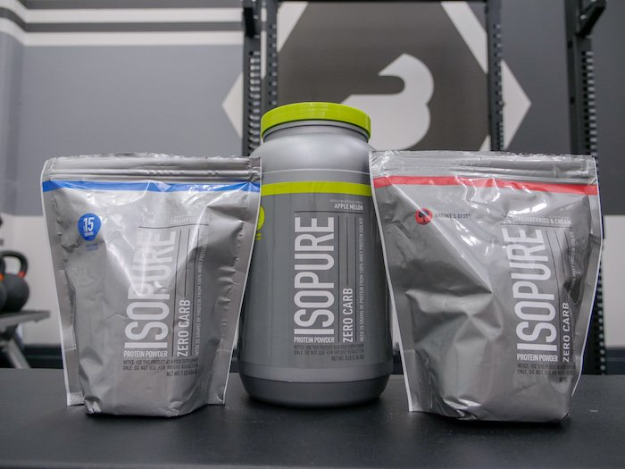 isopure zero carb three flavors