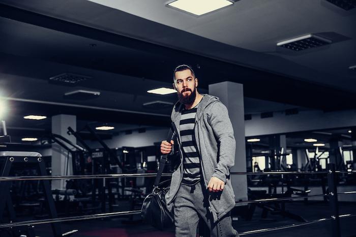 leaving gym