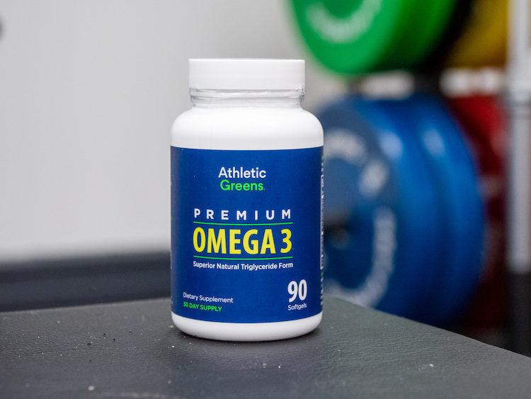 athletic greens omega
