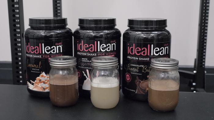 IdealLean protein shakes