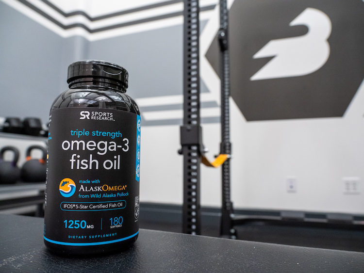 sports research omega 3
