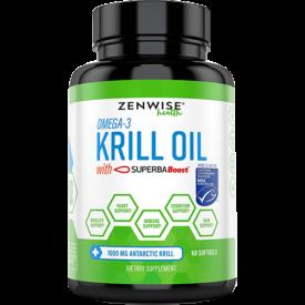 Zenwise Health Omega-3 Krill Oil