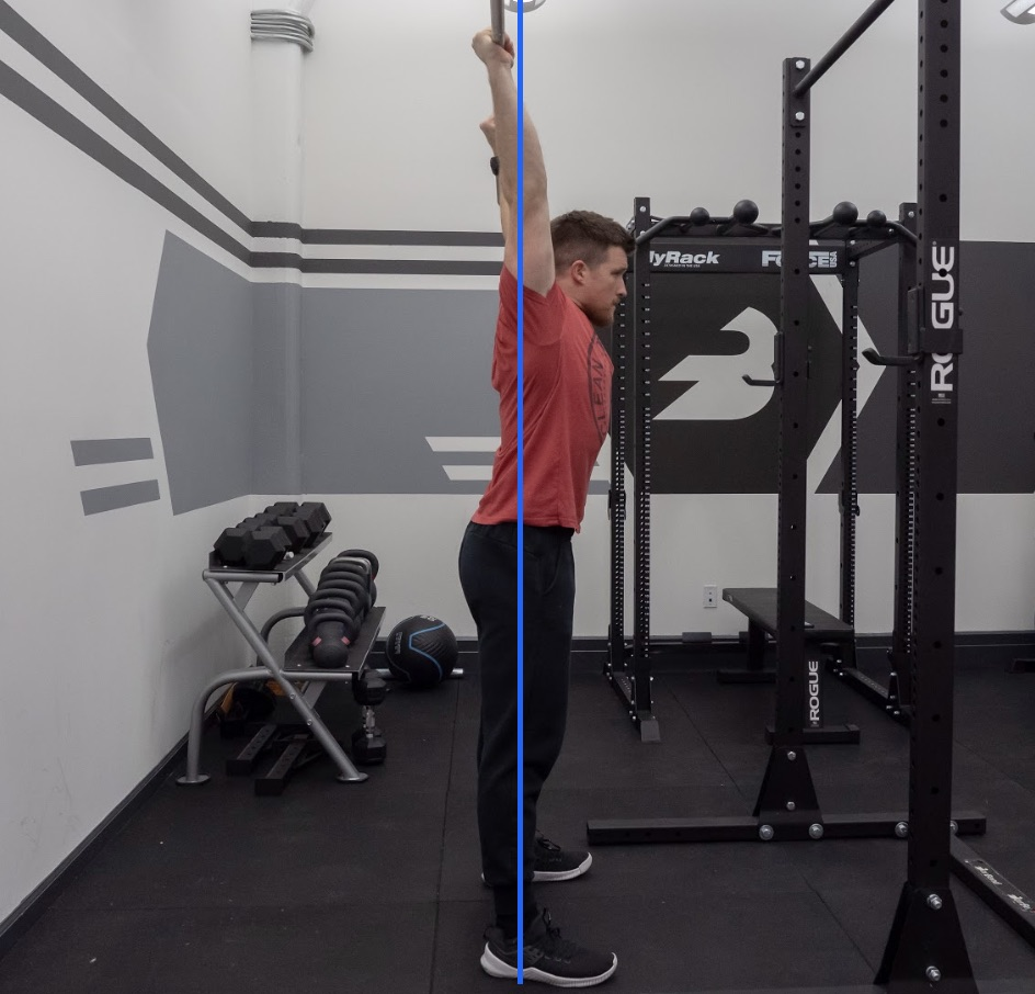 Overhead Press Bar Alignment