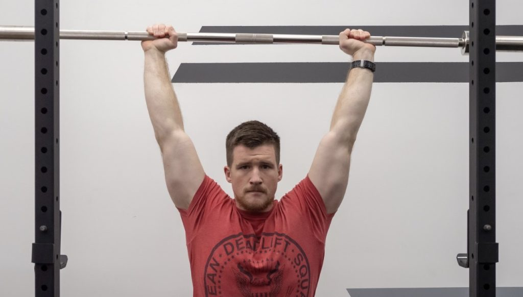 Overhead Press Bar Path