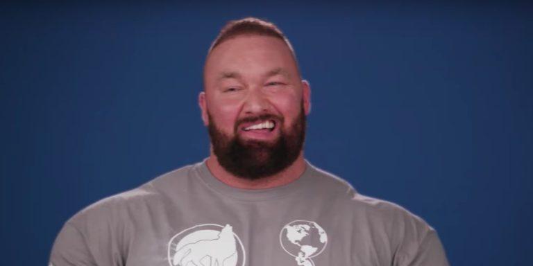 Thor Bjornsson laughing