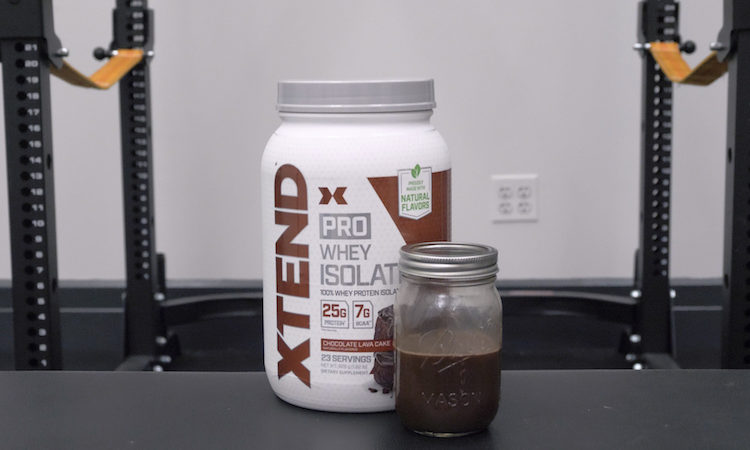 Xtend pro whey isolate jar
