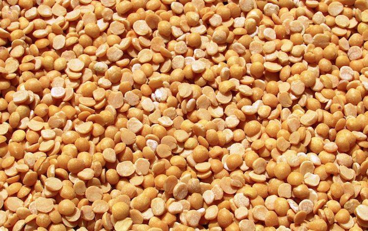 yellow peas small
