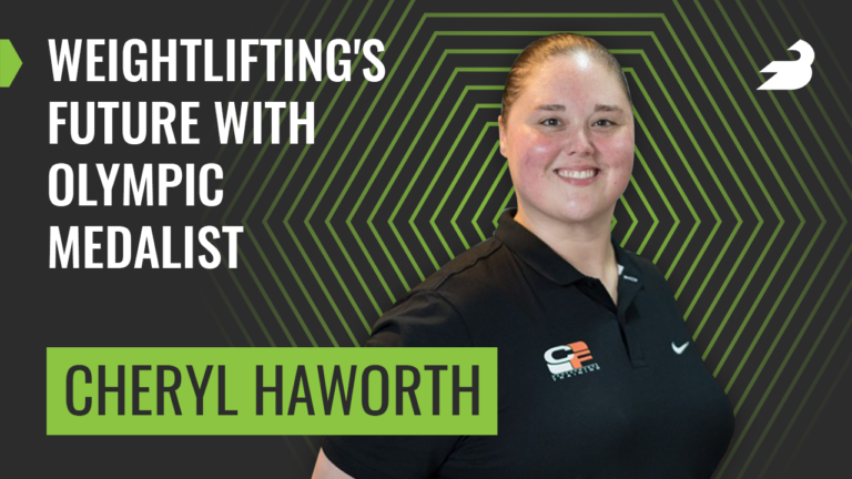 Weightlifter Cheryl Haworth