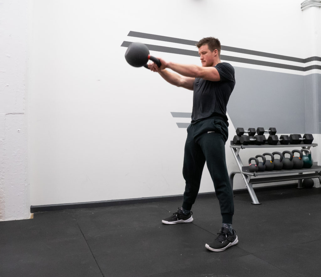 Kettlebell Swing workout