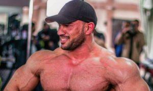 Bodybuilder Mohamed Shaaban