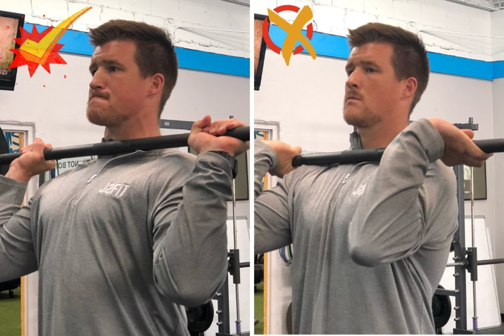 Overhead Press Wrists