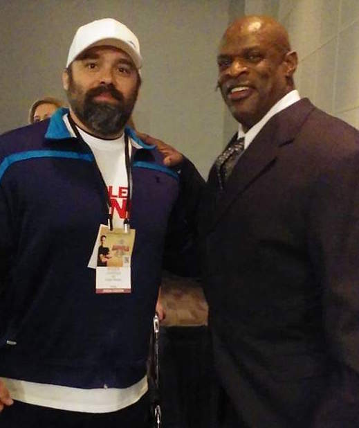 Ronnie Coleman with Roger Lockridge