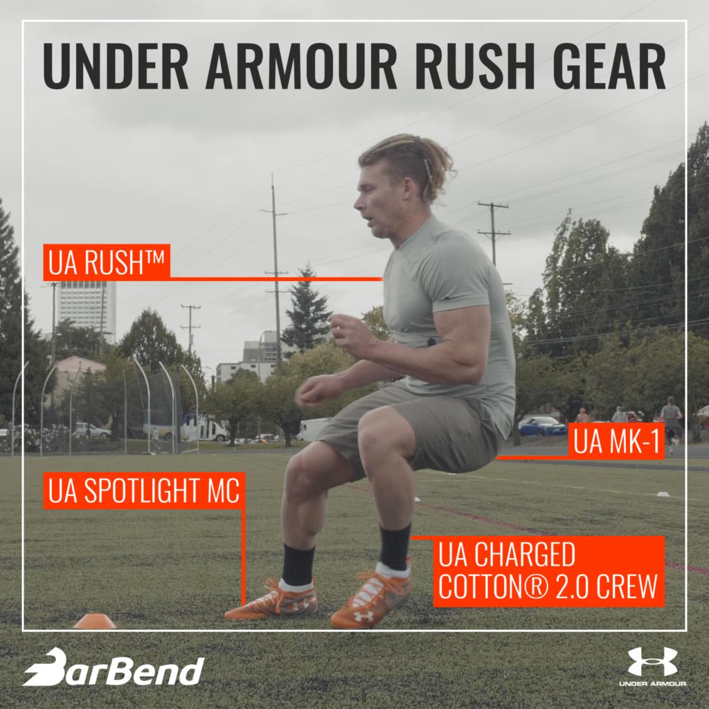 Under Armour Rush Gear