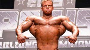Bodybuilder Zach Merkel