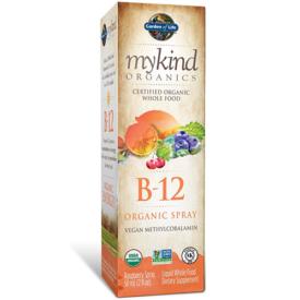 Garden of Life mykind Organic Whole Food B12