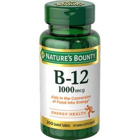 Nature's Bounty Vitamin B12