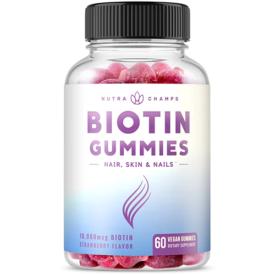 Nutra Champs Biotin Gummies