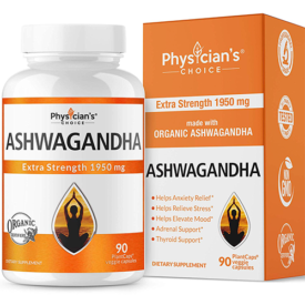 Physician's Choice Organic Ashwagandha