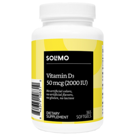 Amazon Brand Solimo Vitamin D3