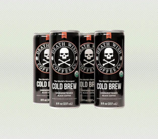 Death Wish Coffee Cold Brew Cans