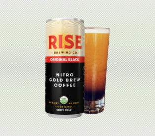 RISE Brewing Co. Original Black Nitro Cold Brew Coffee