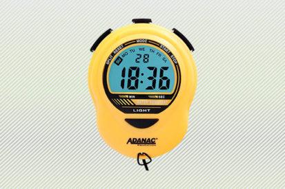 Marathon ST083913YE Adanac Digital Glow Stopwatch Timer