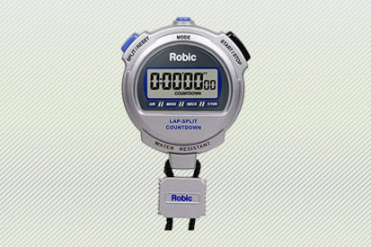 Robic Silver 2.0 Twin Stopwatch w/ Countdown Timer