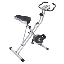 Exerpeutic Folding Upright Exercise Bike