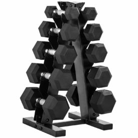 CAP Barbell 150-lb Hex Dumbbell Weight Set
