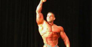 Bodybuilder Derek Lunsford