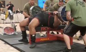 Erick Lewis Powerlifting Performance