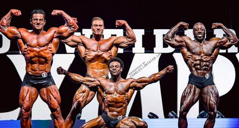 2019 Olympia Bodybuilding Classic Physique Competitors