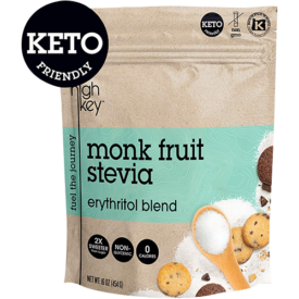HighKey Monk Fruit, Stevia, Erythritol Blend