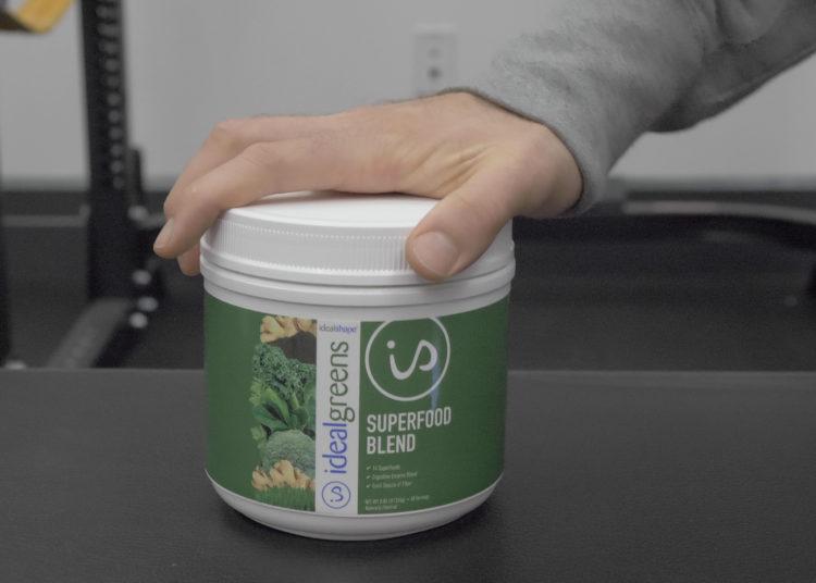 idealgreens superfood blend tub