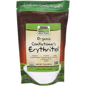 NOW Foods Organic Confectioner's Erythritol