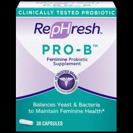RepHresh Pro-B Probiotic Supplement for Women