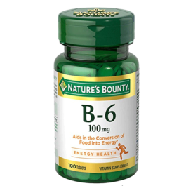 Nature's Bounty Vitamin B6