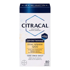 Citracal with Calcium D Slow Release 1200