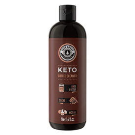 Left Coast Performance Keto Coffee Creamer with MCT Oil, Ghee Butter, & Cocoa Butter