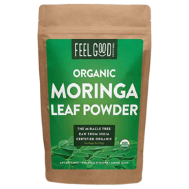 Feel Good Organic Moringa Leaf Powder